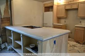 How To Make A Concrete Bench Top Finished Concrete Countertops Finishing Steps Total Cost U0026 Final