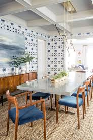 Wallpaper In Dining Room by Wallpaper In Dining Room Home Design Ideas
