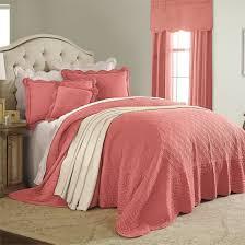 amazon com brylanehome florence bedspread coral queen home