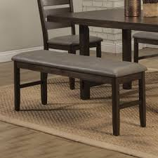 Leather Dining Benches Faux Leather Kitchen U0026 Dining Benches You U0027ll Love Wayfair