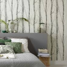 Birch Tree Decor Fine Decor Wallpaper Birch Tree Black Silver Lancashire