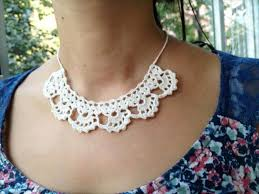 crochet necklace images 60 free vintage crochet jewelry ideas diy to make jpg