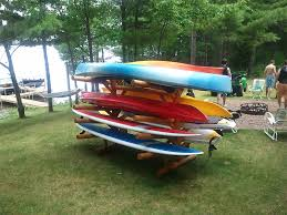 Free Standing Kayak Storage Rack Plans by 8 Slot Kayak Racks 8 Place Paddle Board Rack Canoe Storage