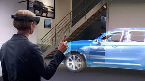holographic car hololens volvo cars uk ltd