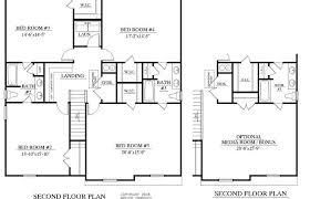 second story floor plans second floor plans or by plan the osprey house cape cod modern