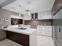 Kitchens With Tiles - u shaped kitchen designs with breakfast bar tile backsplash