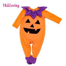 boys joker halloween costume new long sleeve baby pumpkin romper winter autumn jumpsuit newborn