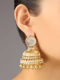 kerala style jhumka earrings beautiful silver jhumka earrings with intricate carving flower
