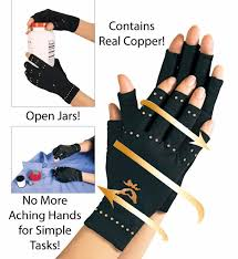 hair extensions as seen on tv a black compression gloves with healing copper health care tool