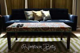 Cover Coffee Table Make A Coffee Table Cover Hometown Betty