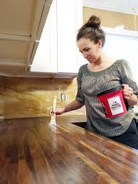 how to cut seal install butcherblock countertops with an diy butcherblock countertops