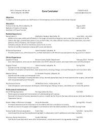 Orthopedic Nurse Resume Sample Nursing Student Resume Clinical Experience Resume Nursing