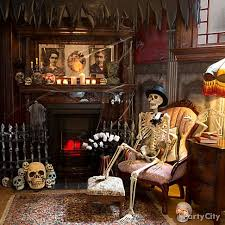 Haunted House Decorations Http Www Partycity Com Content Halloween Haunted House