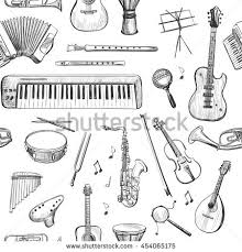 sketches for musical instrument sketches www sketchesxo com