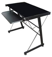 Glass Top Computer Desks by Jit717 Glass Top Computer Table Black Lazada Ph