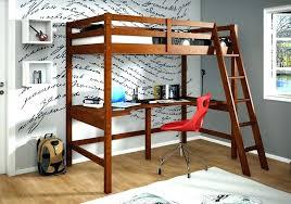Diy Bed Desk Bunk Bed W Desk Walnut Bunk Bed With Computer Desk Bunk Bed