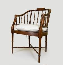 Heywood Wakefield Bamboo by Mid Century Faux Bamboo Chair Ebth
