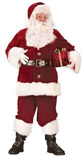plus size deluxe santa suit