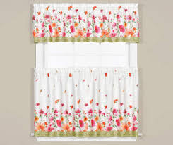 Valance And Drapes Kitchen Curtains Big Lots