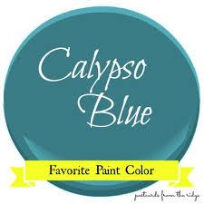 favorite paint color benjamin moore calypso blue postcards