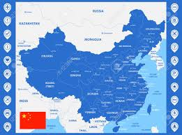 map of china and cities the detailed map of china with regions or states and cities