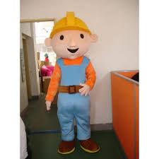 bob builder mascot costume hire
