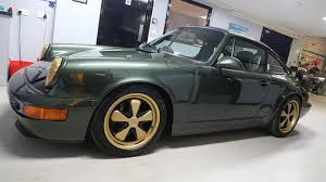 green porsche 964 oak green rpm technik independent porsche specialists