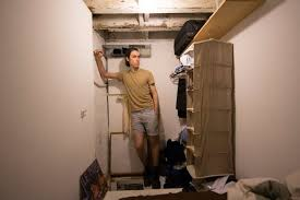 Crawl Space Cleaning San Francisco This Guy Pays Rent To Live In A Brooklyn Crawlspace Apartment