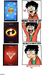 Pixar Meme - reactions to pixar movie line up imgflip