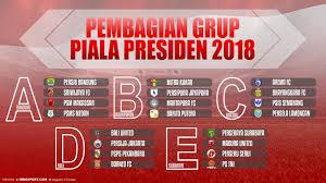 Jadwal Piala Presiden 2018 Berikut Jadwal Siaran Langsung Grup A Piala Presiden 2018 Indosport