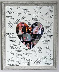 wedding signing board framed signature signing heart shaped board wedding guest book