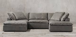 Cloud Sectional Sofa Cloud Modular Leather Sectionals Rh