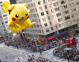 pikachu photos macy s thanksgiving day parade 2012