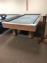 brunswick used pool tables used 8 brunswick century pool table chesapeake billiards