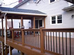 Diy Backyard Deck Ideas Incredible Ideas Deck Cover Ideas Cute Deck With Roof Design Best