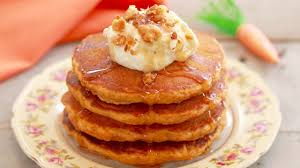 carrot cake pancakes with cream cheese frosting gemma u0027s bigger