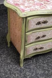Shabby Chic Jewelry Armoire by Distressed Painted Wood Jewelry Box Mint Green And Gray Shabby