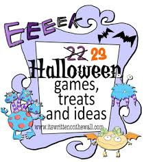 Halloween Skeleton Games by It U0027s Written On The Wall Indoor Halloween Games Dinner Menus
