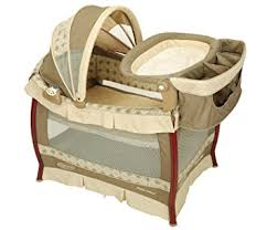 Changing Table For Pack N Play Graco Wood Frame Pack N Play With Bassinet And
