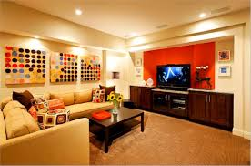 Partially Finished Basement Ideas Home Ideas Partially Finished Basement Cool Basements Office