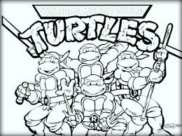 10 ninja turtles coloring pages kids color zini