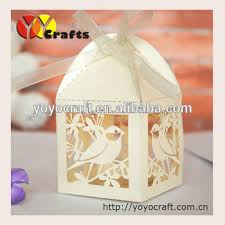 where to buy cake box laser cut wedding cake box with ribbon with fast shippment from