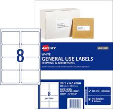 99 1 X 67 7 Mm Label Template general use labels 938207 avery australia