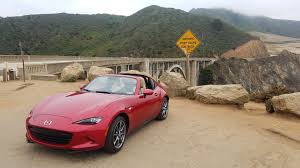 who made mazda cars the mazda mx 5 miata rf explores the epic landslides of big sur