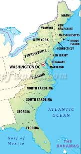 map of east coast states coverage top notch delivery service