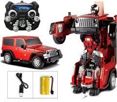 jeep toy car toy tree remote control car transformers robot tranformer convert