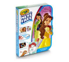crayola disney princess color mess free