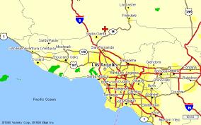 map of santa santa clarita california map