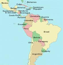 jamaica physical map unit 6 america world cultures rettig