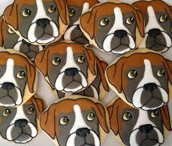 boxer dog umbrella oh sugar events boxer dog cookies 2 0